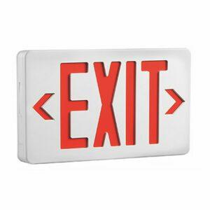 LED Exit Sign, EX7007R – 1W