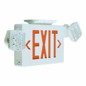 LED Exit & Emergency Combo Sign, EXTEC2 – 5W