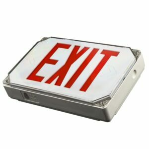 LED Outdoor Exit Sign, EX7006 – 3W