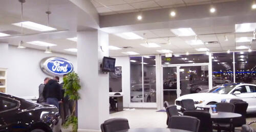 Chuck Anderson Ford Lobby