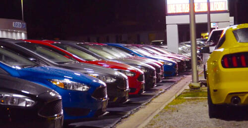 Chuck Anderson Ford Lot